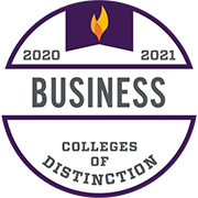 College of Distinction Business 2020-2021