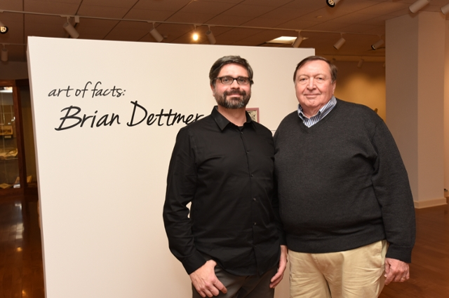 art of facts:Brian Dettmer- Opening Reception