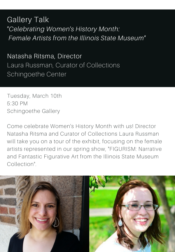 Gallery Talk Womens History Month