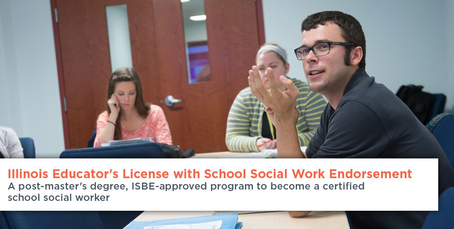 Il Professional Educators License With Social Work Endorsement