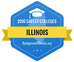 Aurora University has been named one of the Safest Colleges in Illinois for 2016.