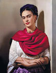Portrait of Frida Kahlo by Nickolas Muray