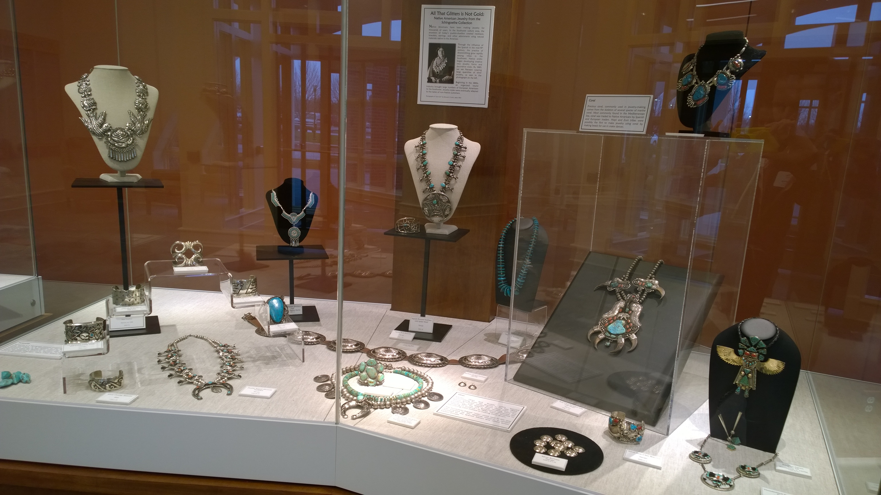 All That Glitters is Not Gold: Native American Jewelry from the Schingoethe Center