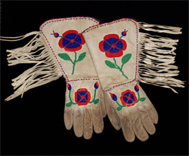 Beaded Gauntlets